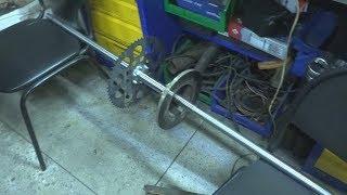 як зробити задній міст для трицикла
