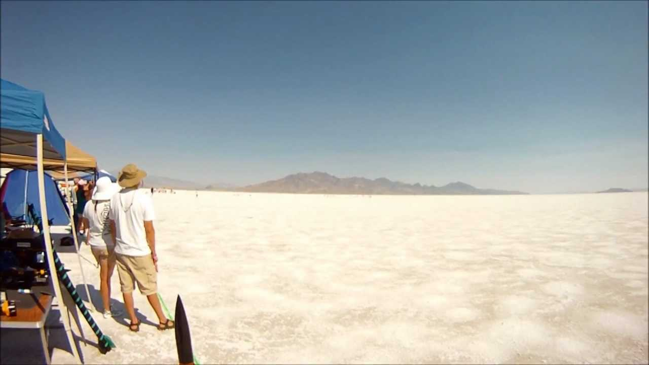 Salt Flats Rocket Launch