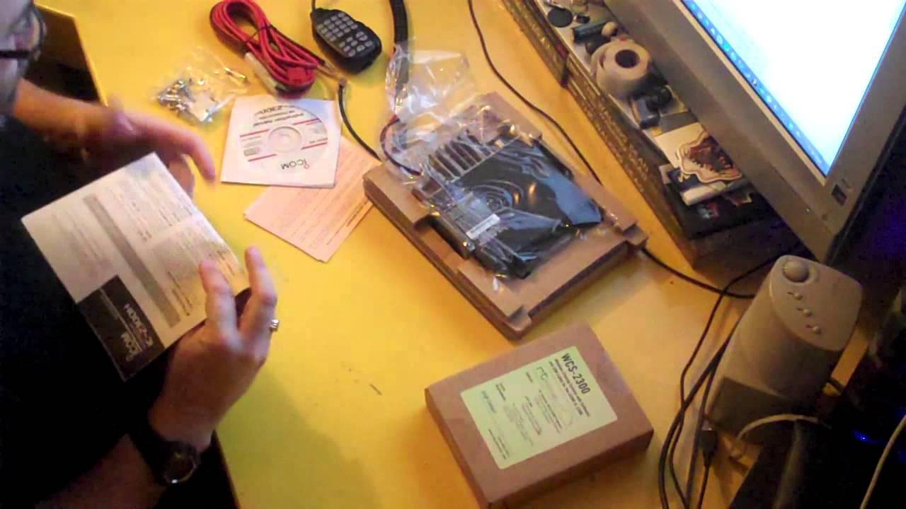 Amateur Radio Unboxing Icom Ic 2300h Vhf Mobile Youtube Rig