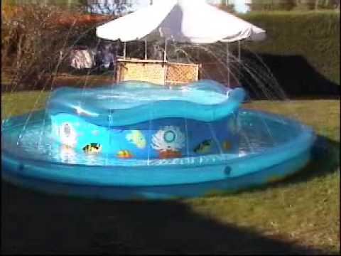 Piscine debordement youtube for Piscine cristaline