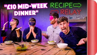 £10 MID-WEEK DINNER Recipe Relay Challenge | Pass it On S2 E14