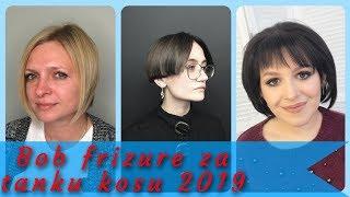 20 🌷 najlepse ideja za bob frizure za tanku kosu 2019