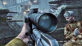 COD World at War - Missão VENDETTA: Duelo entre Snipers