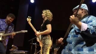 Tab Benoit and Samantha Fish. Jazz Fest 2017.  Night Train