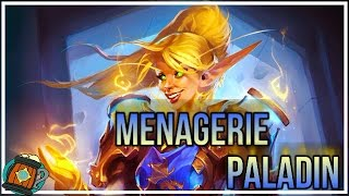Hearthstone : Deck Tech Menagerie Keeper Paladin Journey to Un