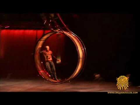 KOOZA by Cirque du Soleil - Wheel of Death Act