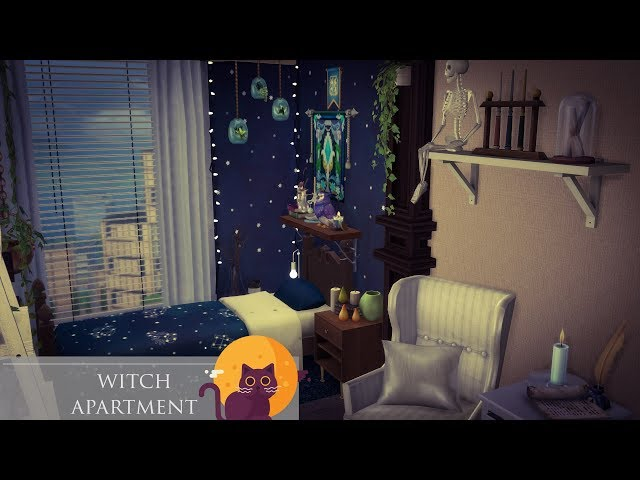 🌟Witch apartment 🌜✨| The Sims 4 - House Building
