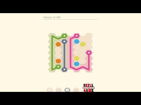 Puzzledom - Connect - Hexa A Level 1 - 150 - Walkthrough