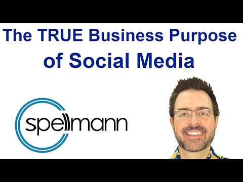 The TRUE Business Purpose of Social Media
