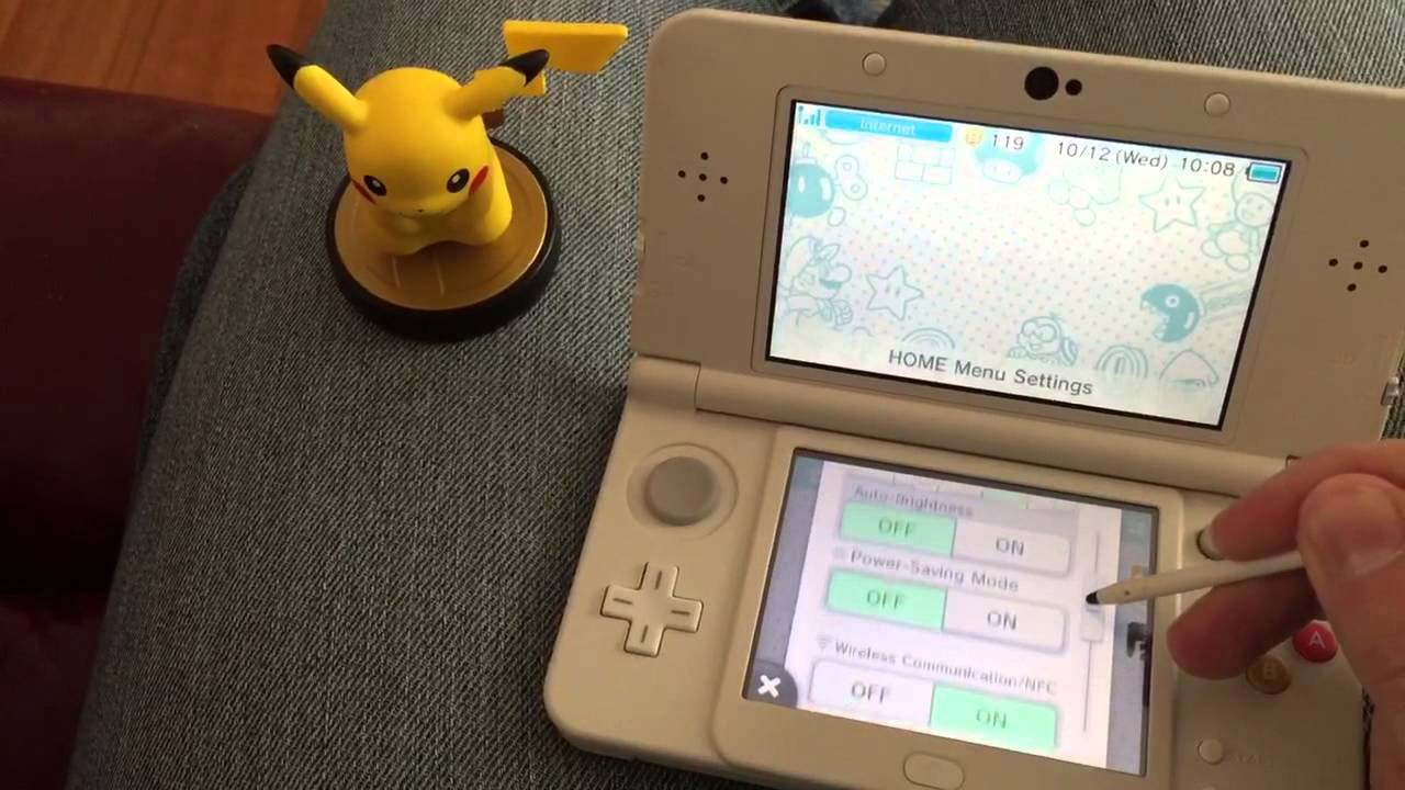 How to register Amiibo on New Nintendo 3DS  3DS XL  YouTube