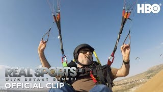 Addicted to Freedom: Paraglider Therapy | Real Sports w/ Bryant Gumbel | HBO
