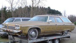 1973 Oldsmobile Custom Cruiser.