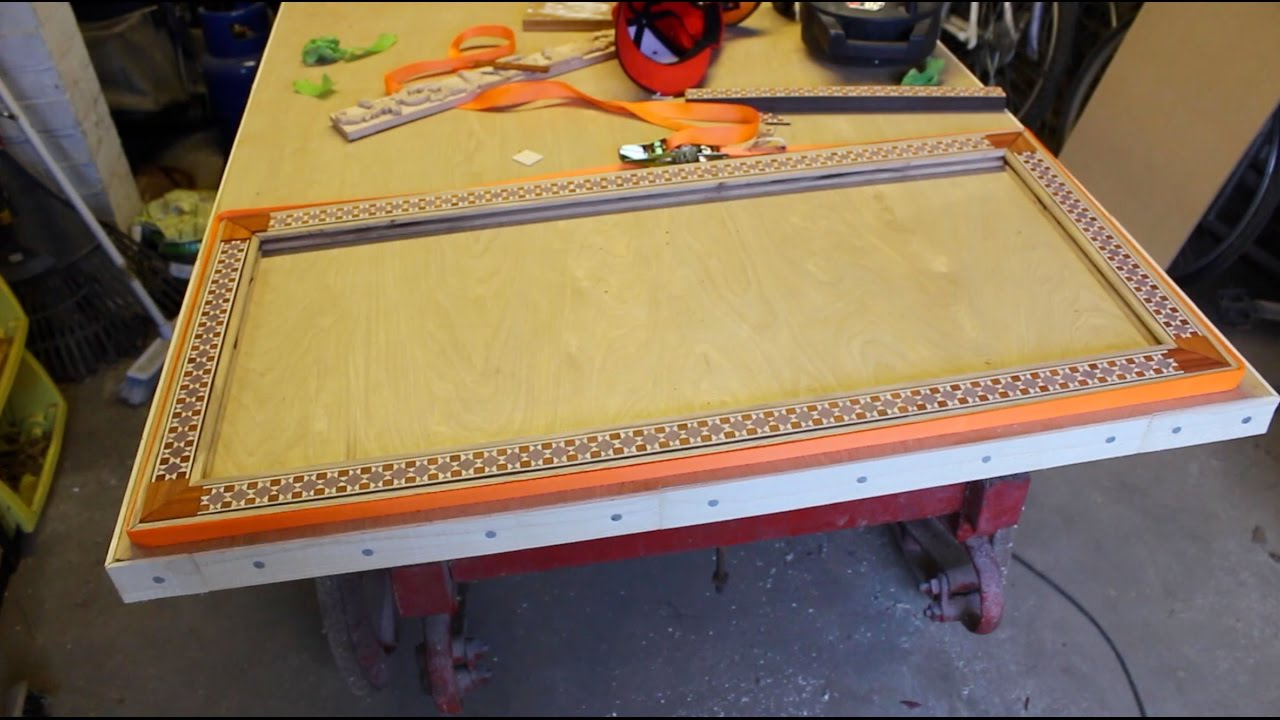 Delicieux Edge Banding Frame For A Table Top