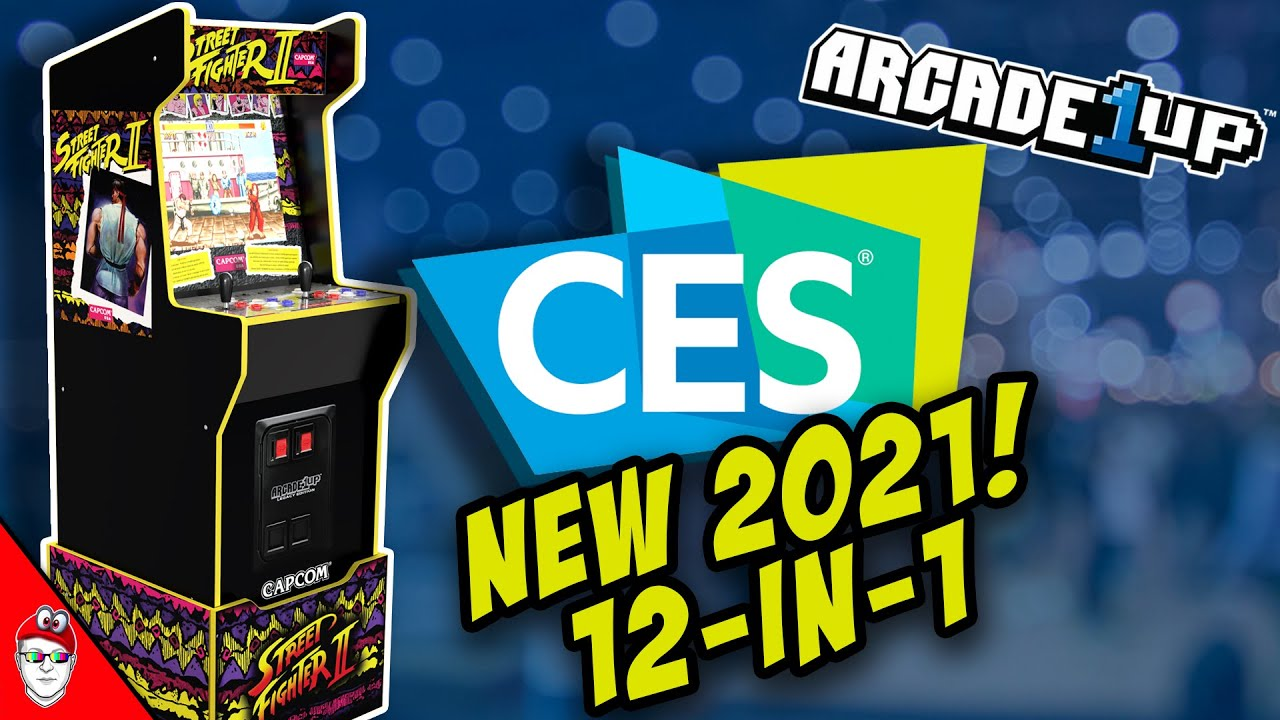 Arcade1up CES 2021 - New Street Fighter 12-in-1