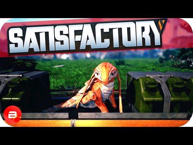 Super Fuel, Power Slugs & Chainsaw Choppin' in Satisfactory! (Satisfactory Gameplay)