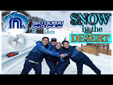 CRAZY DAY AT SKI DUBAI | EXPERIENCE SNOW IN THE DESERT | SNOW PARK & SKI SLOPE 2020