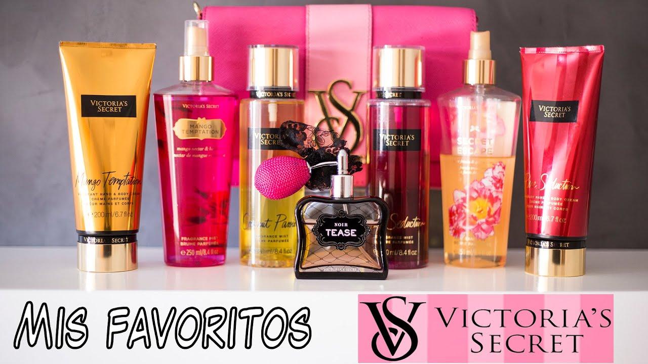 victoria secret cremas y perfumes