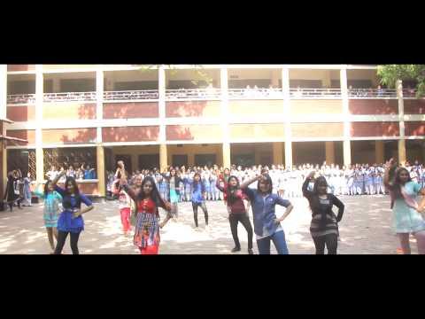 ICC World T20 Flashmob YWCA Girls High School   Artways Presents