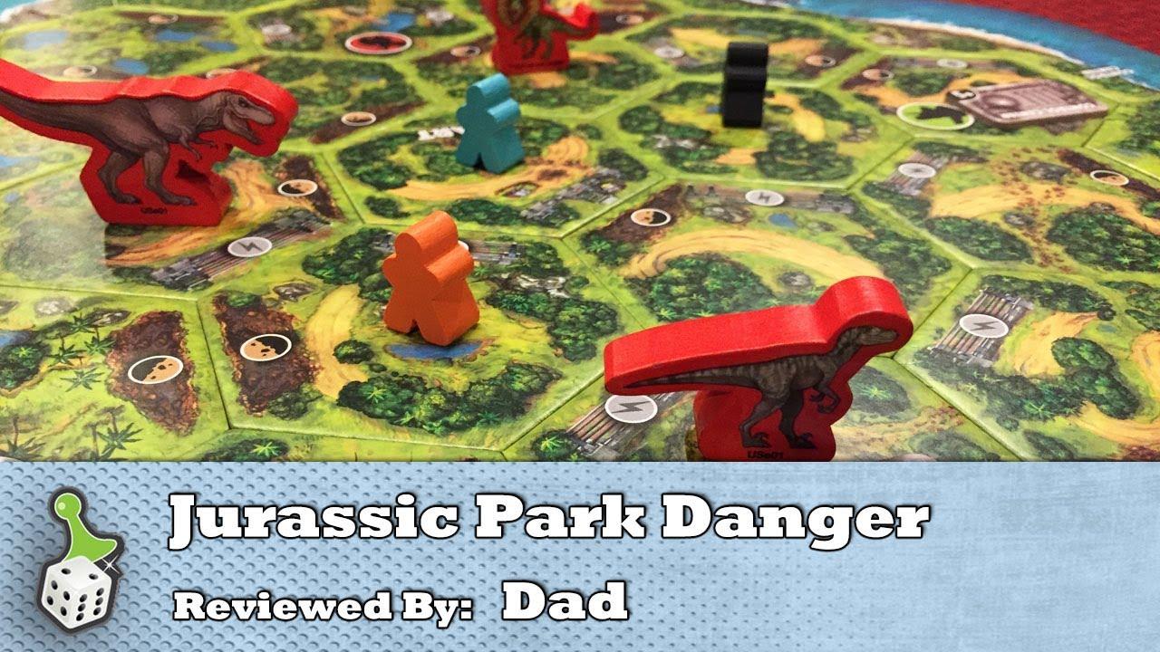 Board Game Review Jurassic Park Danger Youtube