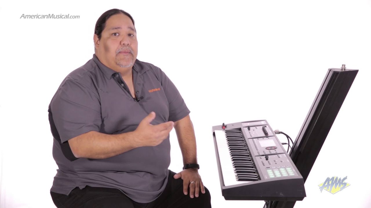 roland fa06 synthesizer workstation keyboard sequencer youtube. Black Bedroom Furniture Sets. Home Design Ideas