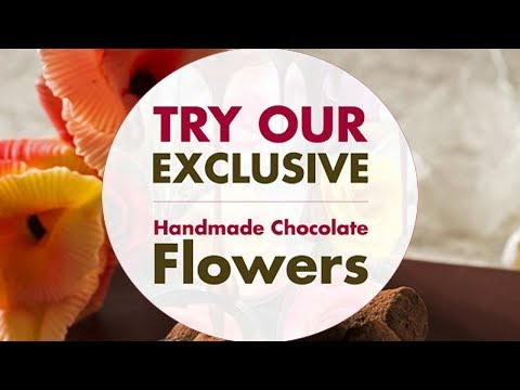 Chocolate Flowers Gift Ideas from Hay Hampers for Valentines and Mothers Day