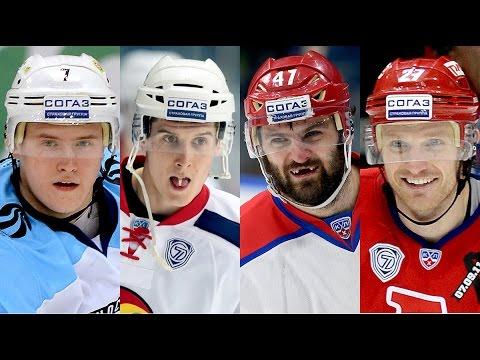 Лучшие голы регулярного сезона КХЛ 14-15 / KHL Top 10 goals for 14-15 regular seasons