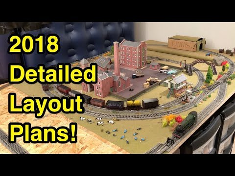 Detailed Layout Plans for 2018!
