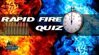 Rapid Fire Quiz Podcast Segment (Video Game Trivia)