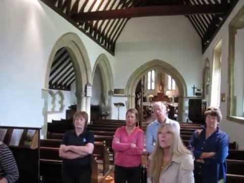 Bell Ringers, St Laurence church, Wyck Rissington, UK