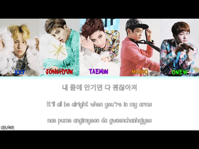 SHINee - Beautiful (아름다워) (Color Coded Lyrics) [Han/Eng/Rom]