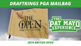 2019 Fantasy Golf Picks - British Open Final Card, DraftKings Picks, Viewer Chat & Weather Update thumbnail
