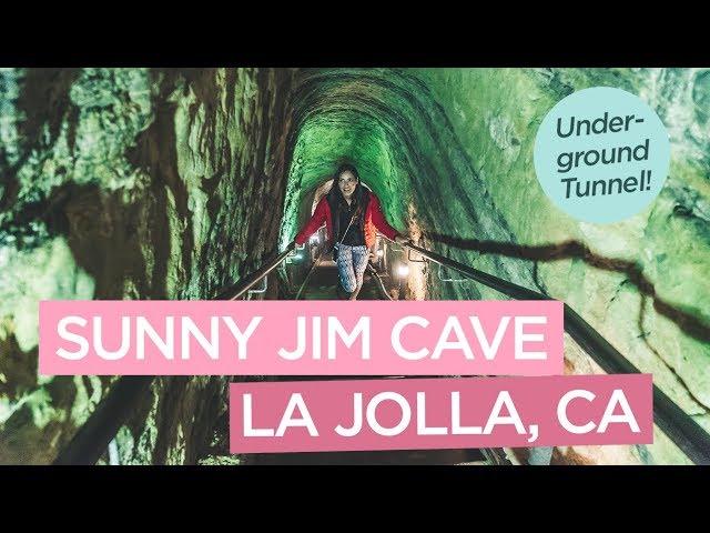 Underground Tunnel to the Sunny Jim Cave in La Jolla, California