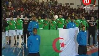اجمل لقطة في المباراة النهائية لكرة اليد الجزائر- تونس