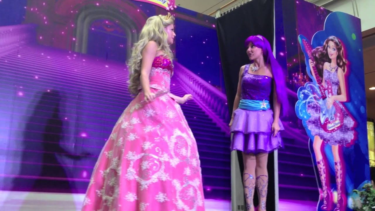 Barbie Princess Popstar Live HD 1080p All Songs