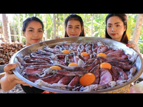 Cooking Crispy Squid Recipe - Natural Life TV