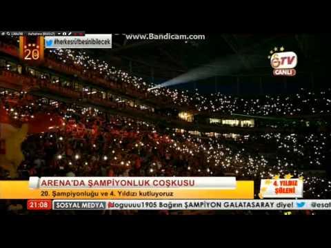 Irem Derici - Galatasaray 20. Sampionluk Kutlamasinda   ✩ ✩ ✩ ✩ - Kalbimin tek Sahibine