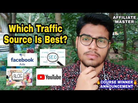 Which Is Best Traffic Source For Affiliate Marketing Beginners 2019 In Hindi thumbnail