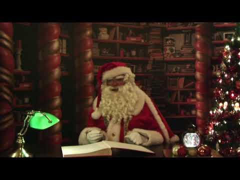 Kerstman : welkom op het school kerstontbijt