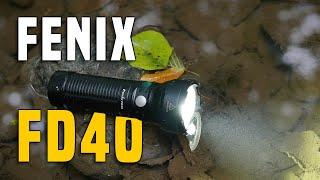 fenix FD40 Taschenlampe - 1 Jahr Testbericht Gear Review