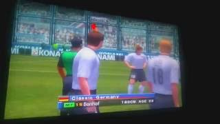 Gamecube - Winning Eleven 6 - F.E. - Classic Argentina vs Classic Germany