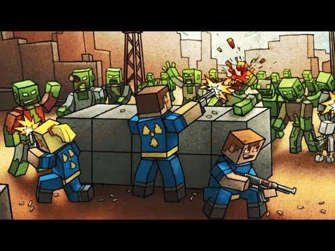 FIRST STORY! PIXEL GUN 3D GAMES | LastCraft Survival Gameplay