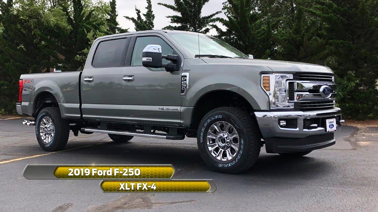 2019 Ford F-250 XLT FX-4 - YouTube