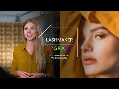 Online MARATHON «LASHMAKER UPGRADE» für FARBwimpernverlängerung video