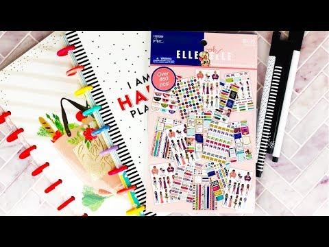 Planner Haul - Hobby Lobby, Happy Planner, Elle Oh Elle   Planning With Kristen