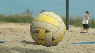 The Alpena Bud Light Mixed Beach Volleyball League comes to a close