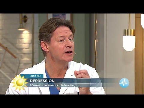 Doktor Mikael: 5 symptom p depression - Nyhetsmorgon (TV4)