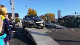 Audi Q7 Тест драйв 2014 HD