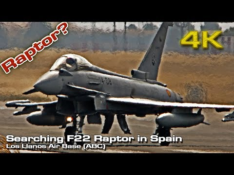 Searching F-22 Raptor In Spain (Summer 2018)