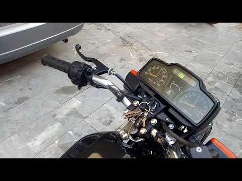 My love my Kawasaki gto 125 92 model