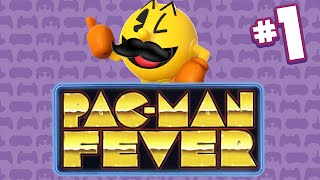 Pac-Man Fever con Mostacho - Parte 1 - A doctor Willy le gustan las bananas!!